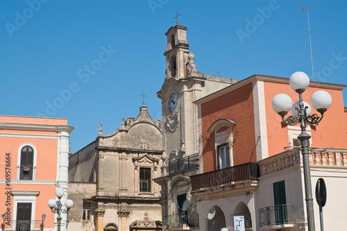 Fototapeta Alleyway. Massafra. Puglia. Italy.