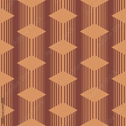 Photo Seamless asian pattern with geometric elements