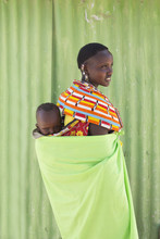 Mother And Child From Samburu ...