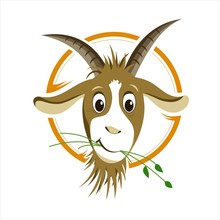 Cartoon Goat - Illustration