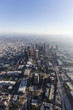 Los Angeles Downtown Towers Afternoon Aerial
