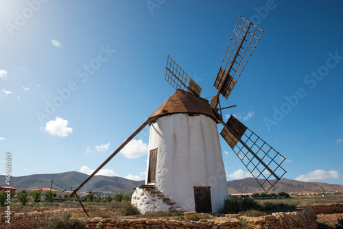 Windmill Fuerteventura Canvas