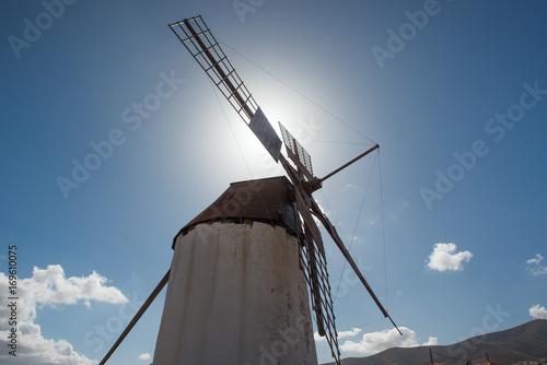 Windmill Fuerteventura Poster
