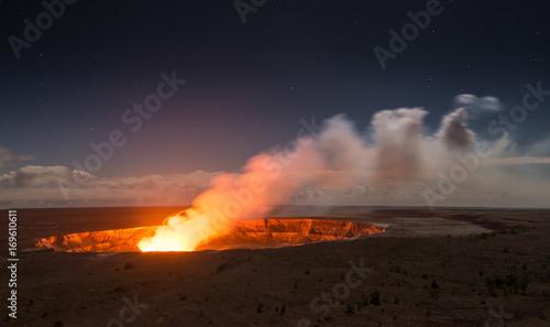 Deurstickers Vulkaan Kilauea Volcano on Big Island, Hawaii