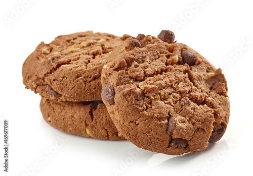 Tuinposter Koekjes Chocolate and nut cookies