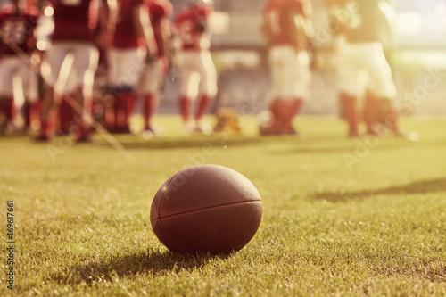 Fototapeta Zamknij się futbol amerykański
