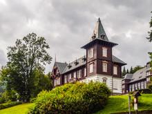 Spa House In Karlova Studanka Spa Resort, Hruby Jesenik, Czech Republic.