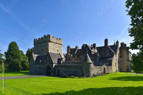 Schottland - Drum Castle Canvas Print