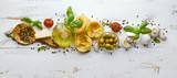 Italian pasta ingredients - 169638893