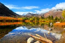 Autumn Landscape Near Sabrina Lake ,Bishop California