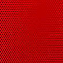 Vehicle Reflective Red Abstract Isometric Shape Background