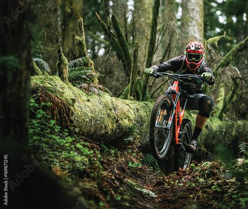 fahrrad tour Fototapeta