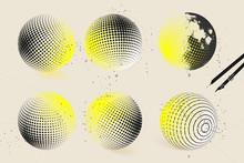 Halftone Sphere Designs