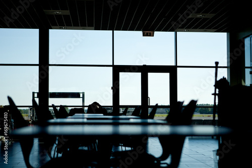 Canvas Prints Airport Empty airport