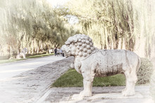 God Way Ming Tombs, Beijing.Th...