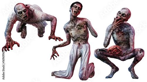 Zombie loonies Canvas Print