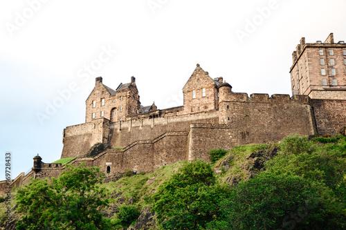 Plakat Szkocja - zamek w Edynburgu