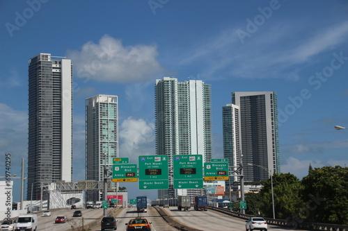 Fototapeta Witaj w Miami