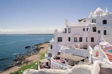 Vista Para O Mar De Punta Ballena, Punta Del Este
