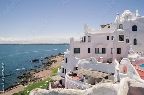 Fotografie, Obraz  Vista para o mar de Punta Ballena, Punta del Este
