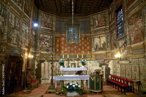 Binarowa.  Kościół św. Michała Archanioła - fototapety na wymiar