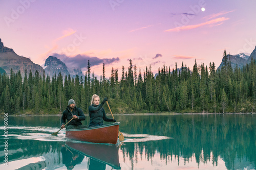 Foto Canoe Couple
