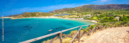 Photo  Sa Colonia beach, Chia resort, Sardinia, Italy