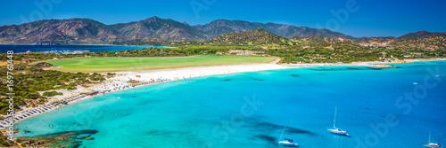 Photo  Porto Giunco beach, Villasimius, Sardinia, Italy