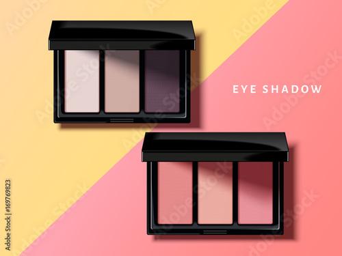 Obraz Modern eye shadow palette - fototapety do salonu