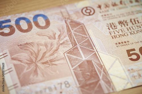 Hongkong dollar Poster