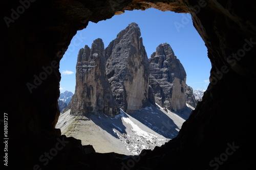 Fotografie, Obraz  Dolomity Tre Cime di Lavaredo