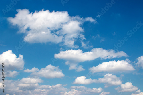 Canvas Prints Heaven The vast blue sky and clouds sky