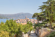 Korcula island in Croatia, Europe, view from the city