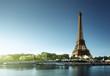 canvas print picture Eiffel tower, Paris. France