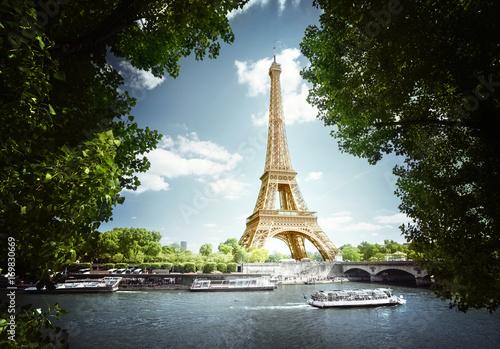 Printed kitchen splashbacks Eiffel Tower Eiffel tower, Paris. France
