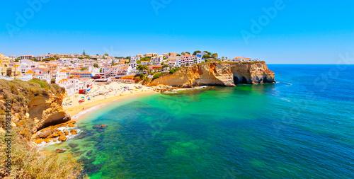 Foto auf AluDibond Blau türkis Algarve, Portugal