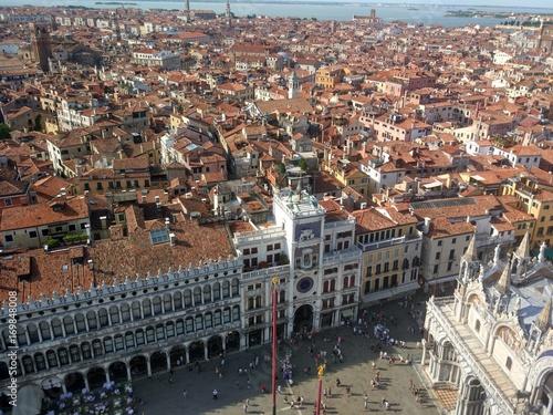 Fototapeta Plac św. Marka z lotu  ptaka, Wenecja. obraz