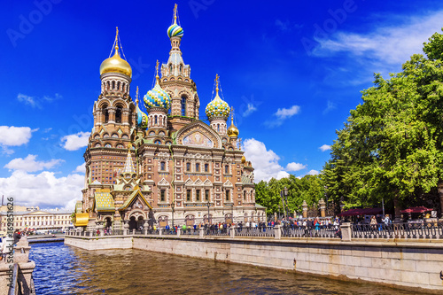 The Church of the Savior on Blood in St. Petersburg