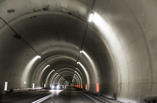 Highway Gallery Tunnel