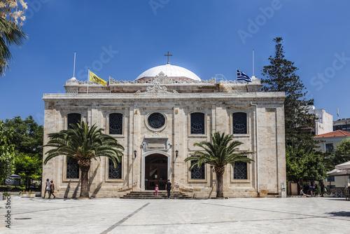 Cuadros en Lienzo St. Titus Cathedral in Heraklion, Crete, Greece