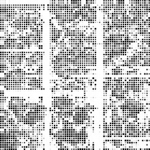 Grunge Background Of Black And White. Abstract Texture. Background Of Black And White Squares Of Different Sizes