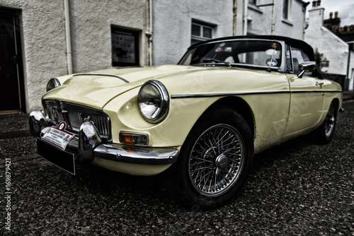 Poster Vintage voitures Classic English Car 2