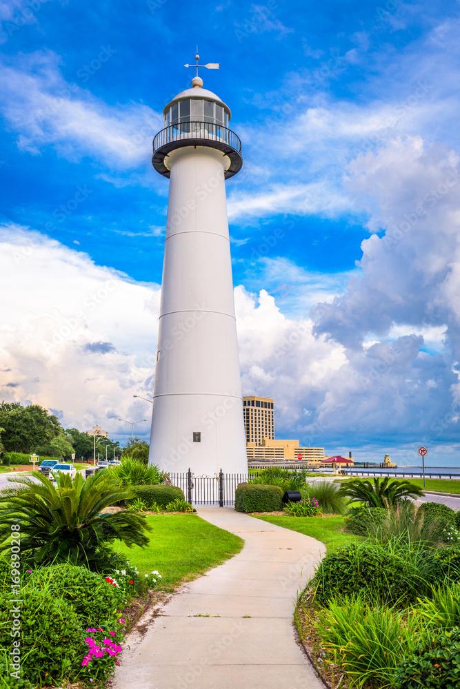 Printed Kitchen Splashbacks Biloxi Lighthouse In Biloxi