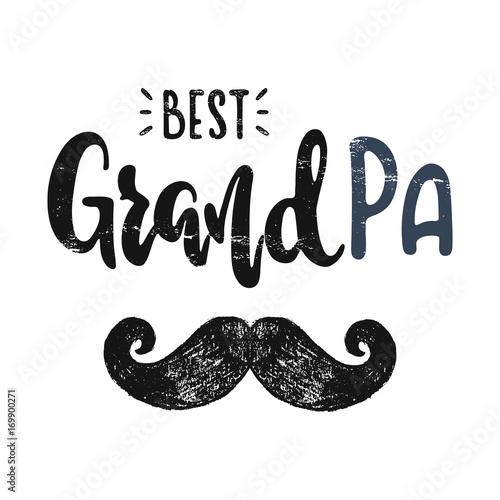 Fotografie, Obraz  To the best grandpa