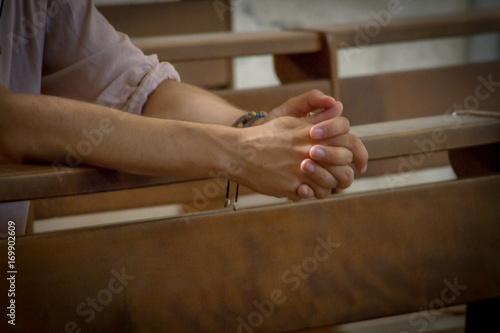 prières Fototapeta