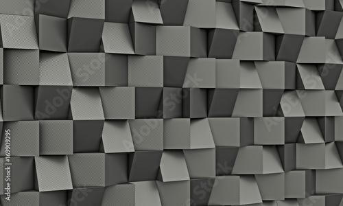 carbon fiber geometric background