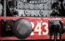 Front End Of Steam Locomotive