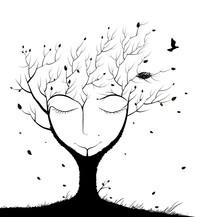 Sleeping Tree Spirit