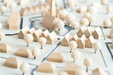 Städtebauliches Modell Aus Ho...