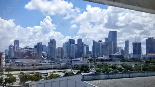 Fototapeta Miami z portu